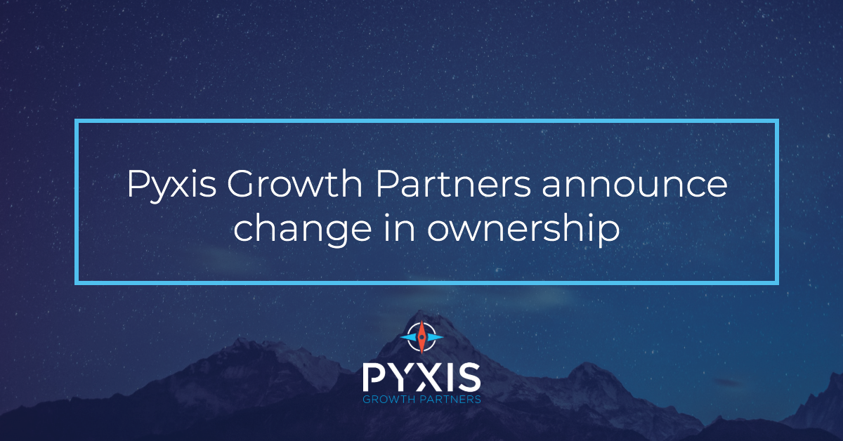 Pyxis Growth Partners Announce Change in Ownership